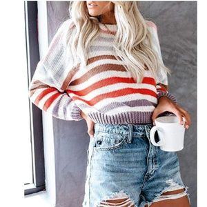 INDRDress Striped Knit Sweater